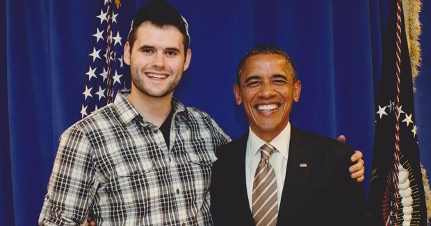 Zach Wahls and President Obama