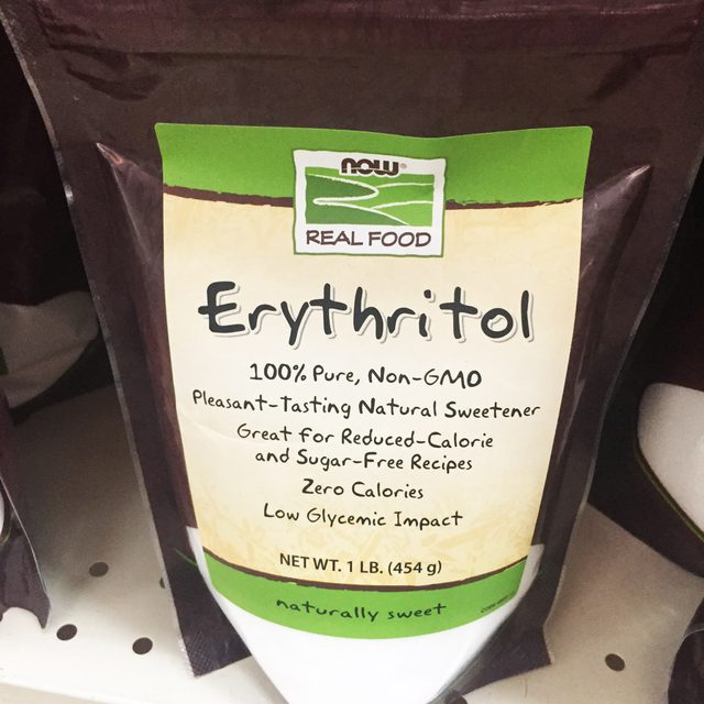 Erythritol Reviewes black