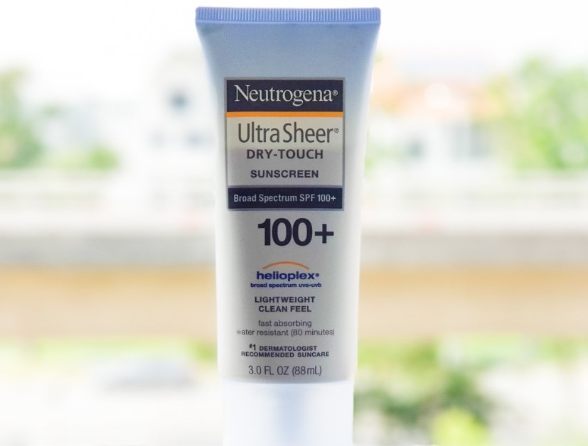 Neutrogena Ultra Sheer Sunscreen