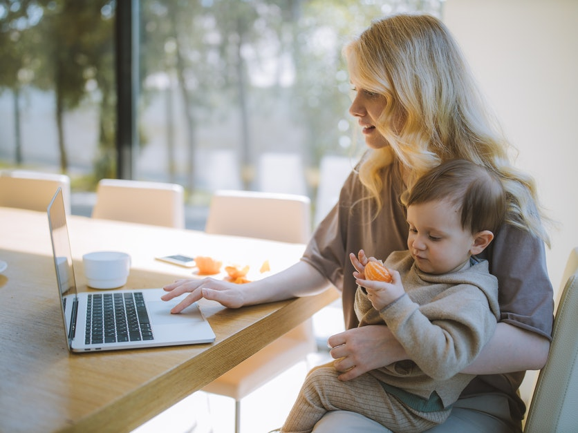 Perfect stay at home mom schedule with infant