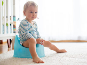how to start toilet training